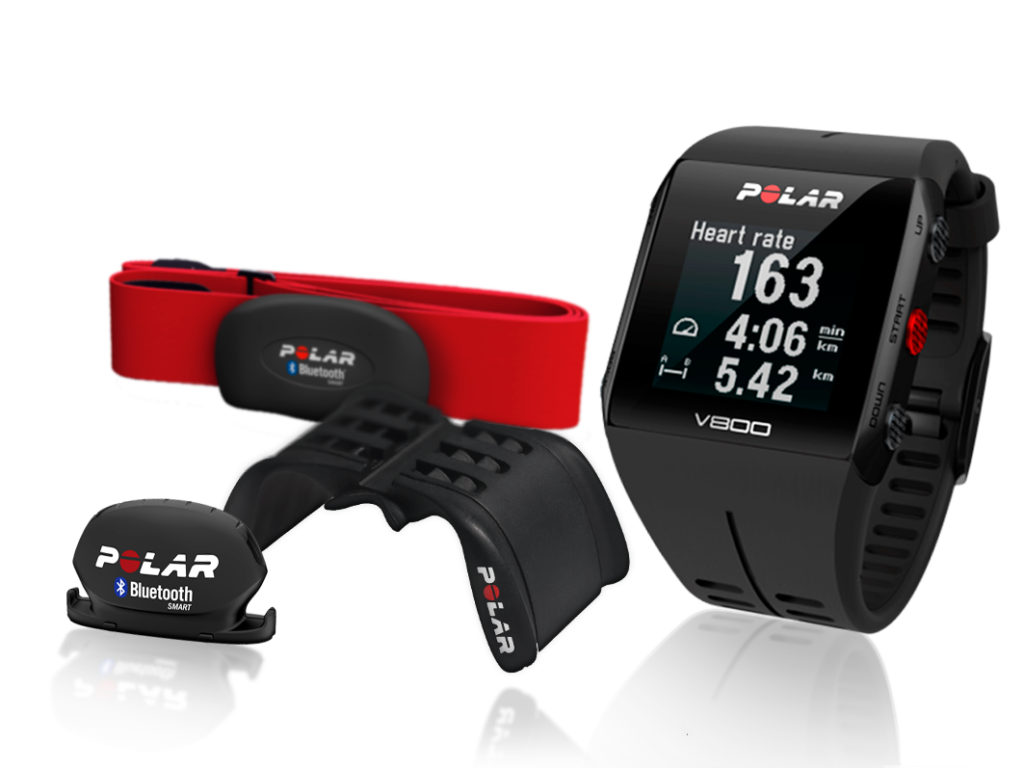 Polar V800 GPS Sports Watch waterproof fitness tracker